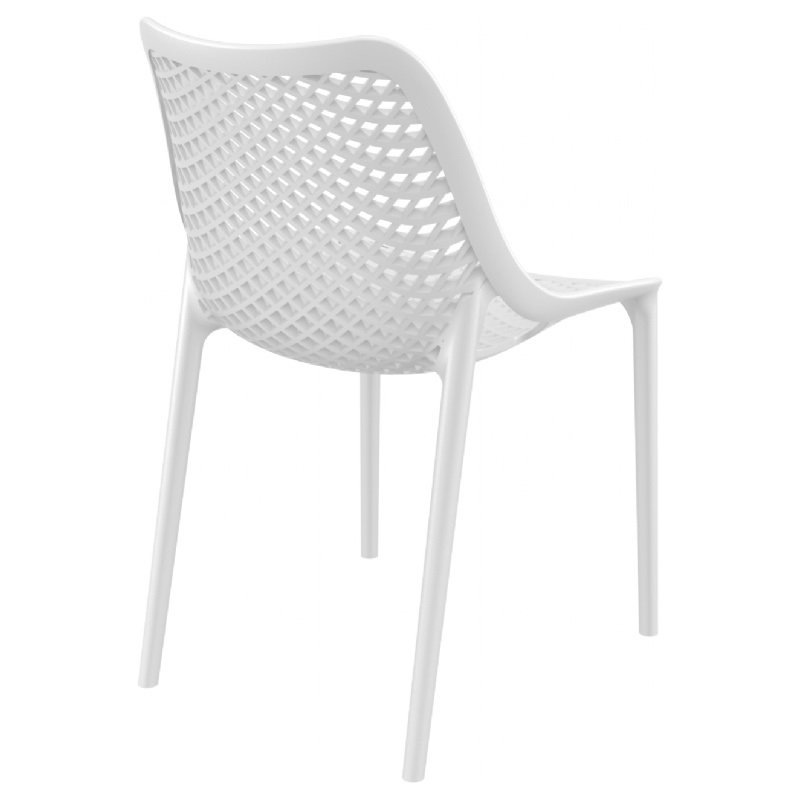 Air Outdoor Dining Chair White ISP014 WHI