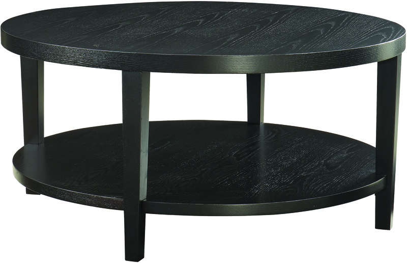 Black Round Coffee Table Zab Living - Black Round Coffee Tables CoffeTable