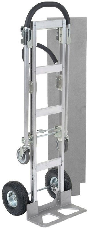 best value senior aluminum 2 in 1 convertible hand truck w