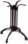 Boca 24'' Spread Powder Coated Aluminum Outdoor Base [PHTB501-BFMS]