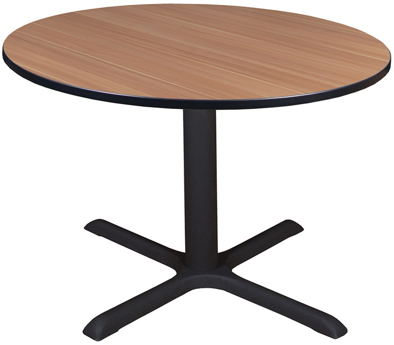 Cain 48 Round Laminate Breakroom Table With Pvc Edge