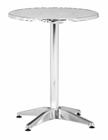 Christabel Folding Table in Aluminum [700602-FS-ZUO]
