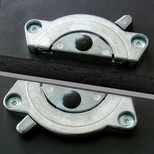 Conny Zinc Table Top Connector - 3.5''Dia [812-02-NY-PMI]