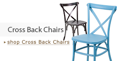 Cross Back Chairs