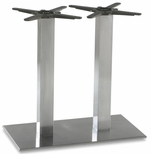 Elite Stainless Steel Double Column Rectangular Base [PHTB1630SS-BFMS]