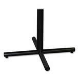 Lorell Training Tablebase - 36''W x 36''L x 27 -1/2''H - Black [LLR61696-FS-SP]