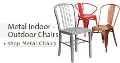 Metal Indoor & Outdoor Chairs