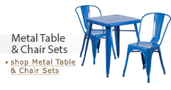 Metal Table & Chair Sets