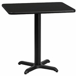 Individual Rectangular Table Tops and Bases