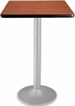 24'' Square Folding Cafe Table - Cherry [CFT24SQ-CHY-3-MFO]