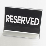 Standard Classic 4.5'' x 3.5'' Reserved Sign [500-CLM]