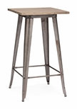 Titus Bar Table in Rustic Wood [601188-FS-ZUO]