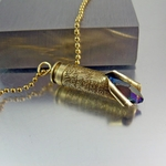 223 Bullet Necklace | Words