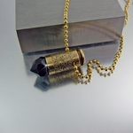 .40 Bullet Necklace | After Dark