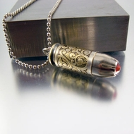 .40 Caliber Bullet Necklace | Hot Stuff