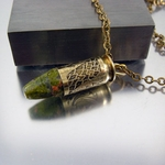 .45 Caliber Bullet Necklace | Hiding