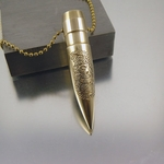 .50 Caliber Bullet Necklace | Gadsden