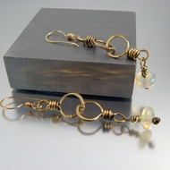 "Artisan Earrings  ""Eclipse"""