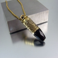 Bullet Necklace   .45 Caliber   Whispering Night