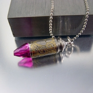 Bullet Necklace | Pink Passion