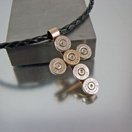 God and Country | Bullet Cross | Bullet Necklace