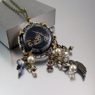 Harley Softail Custom Necklace