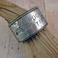 Leather Cuff Bracelet | Rock Star