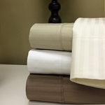 1500 Thread count 100% Egyptian cotton Damask Stripe Sheet sets