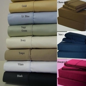 King Size 21-inch Super Deep Pocket Sheet Set 600TC