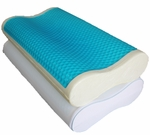 Abripedic Dual Contour Gel Memory Foam Pillow (each)