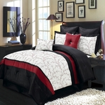 Atlantis Ivory Multi - Piece Bedding Set