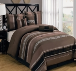 Claudia CoffeeMulti - Piece Bedding Set