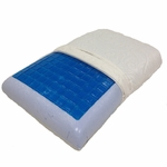 Cool Gel Memory Foam Pillow by Royal Tradition