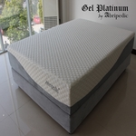 "Gel Platinum by Abripedic 12"" Memory Foam Mattress"