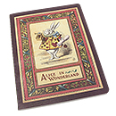 Alice in Wonderland Large Lined Notebook