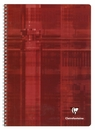 Clairefontaine Classic Wirebound Notebook - Red, A4 Large, Ruled