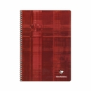 Clairefontaine Classic Wirebound Notebook - Red, A5 Medium, Ruled