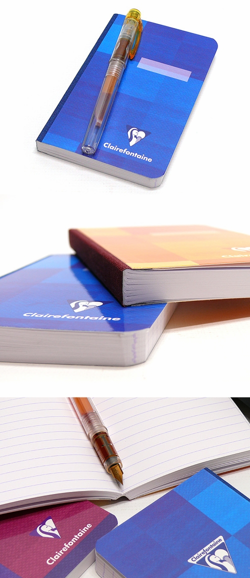 Clairefontaine Cloth-Bound Notebook - Small