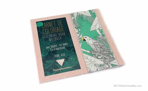 Clairefontaine Coloring Book for Adults - Birds - Click to enlarge