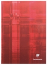 Clairefontaine Hard Cover Notebook - Red, A4 Large, Ruled