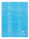 Clairefontaine Hard Cover Notebook - Turquoise, A4 Large, Ruled