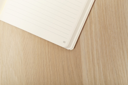 Clairefontaine My Essential Paginated Notebook - Medium, Black, Lined