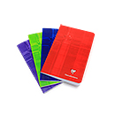 Clairefontaine Side Staple Notebook - 4.25 x 6.75, Ruled