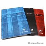 Clairefontaine Staple Bound Notepad - Large, Ruled w/ margin