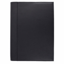 Exacompta Chelsea Leather Refillable Forum Journal - Black, Blank