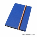 Exacompta Refillable Forum Journal - Club Cover, Blue