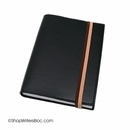 Exacompta Refillable Compact Desk Journal - Soho Cover, Black