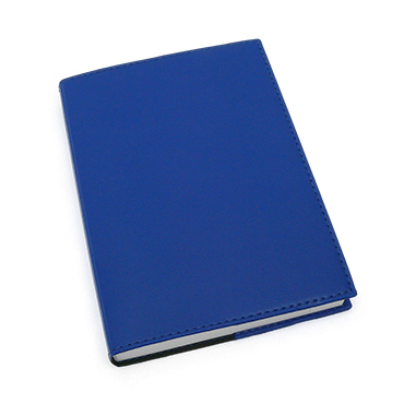 Exacompta Refillable Compact Desk Journal - Soho Cover, Sapphire Blue