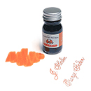 J. Herbin La Perle des Encres Fountain Pen Ink - Orange Indien, 10ml bottle