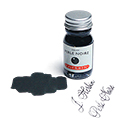 J. Herbin La Perle des Encres Fountain Pen Ink - Perle Noire, 10ml bottle